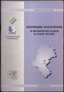 Gospodarka mieszkaniowa w województwie śląskim w latach 1999-2001