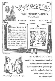 Oremus, R. 8, nr 51 (429), 2001