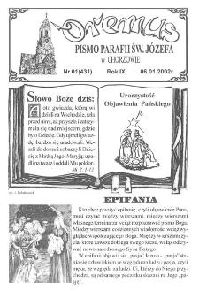 Oremus, 2002, R. 9, nr 1
