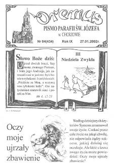 Oremus, 2002, R. 9, nr 4