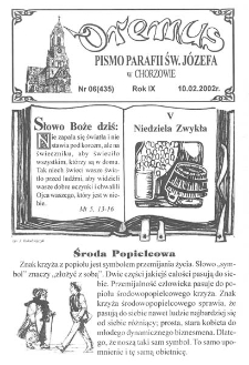 Oremus, 2002, R. 9, nr 6