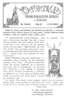 Oremus, 2002, R. 9, nr 13