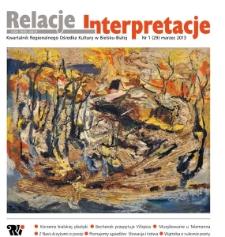 Relacje-Interpretacje, 2013, nr 1 (29)