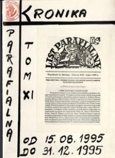 [Kronika parafii w Górze. Kościół św. Barbary.] Tom 11 (1995)