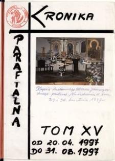 [Kronika parafii w Górze. Kościół św. Barbary.] Tom 15 (1997)