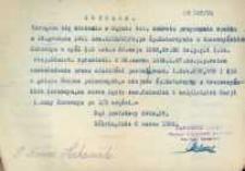 Dekret przyznania spadku z 6.03.1924.
