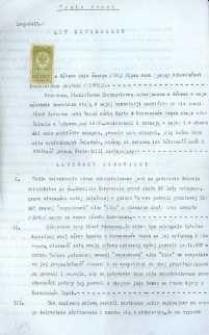 Akt notarialny nadania darowizny z 1925 r.