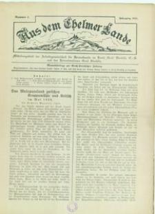 Aus dem Chelmer Lande, 1929, [Jg. 5], nr 3