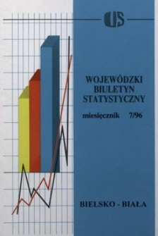 Wojewódzki Biuletyn Statystyczny, 1996, nr 7