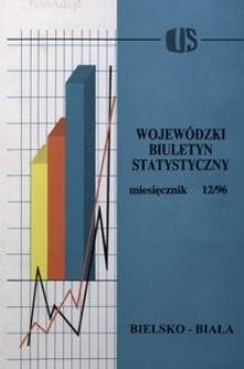 Wojewódzki Biuletyn Statystyczny, 1996, nr 12