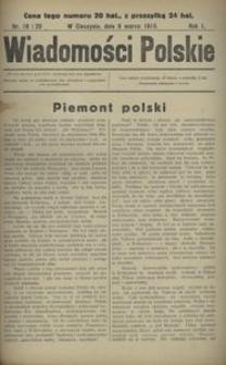 Wiadomości Polskie 1915, nr 19 i 20