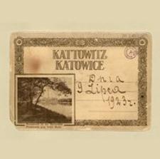 Kattowitz. Katowice. Album pocztówek. Okładka