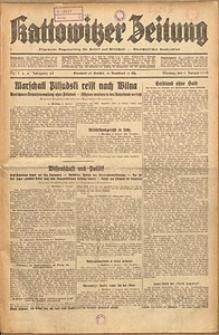 Kattowitzer Zeitung, 1933, Jg. 65, nr1