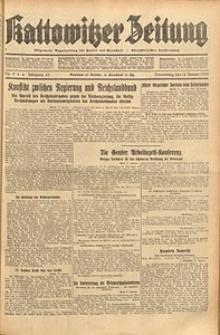 Kattowitzer Zeitung, 1933, Jg. 65, nr9