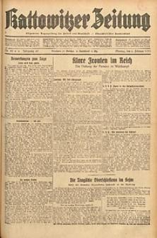Kattowitzer Zeitung, 1933, Jg. 65, nr29