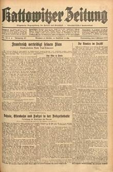 Kattowitzer Zeitung, 1933, Jg. 65, nr32