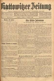 Kattowitzer Zeitung, 1933, Jg. 65, nr36
