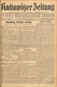 Kattowitzer Zeitung, 1933, Jg. 65, nr43