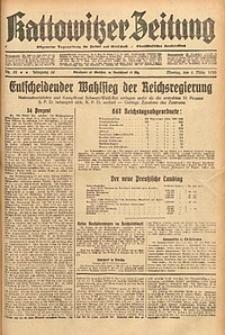 Kattowitzer Zeitung, 1933, Jg. 65, nr53