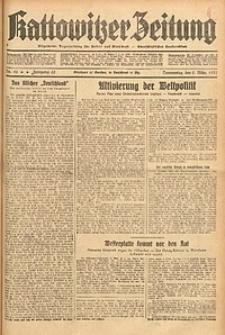 Kattowitzer Zeitung, 1933, Jg. 65, nr56