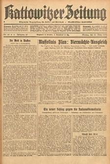 Kattowitzer Zeitung, 1933, Jg. 65, nr65