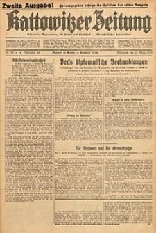 Kattowitzer Zeitung, 1933, Jg. 65, nr73. - Zweite Ausgabe