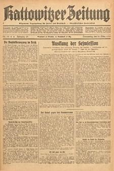 Kattowitzer Zeitung, 1933, Jg. 65, nr74