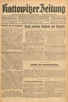 Kattowitzer Zeitung, 1933, Jg. 65, nr75