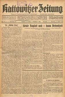 Kattowitzer Zeitung, 1933, Jg. 65, nr76