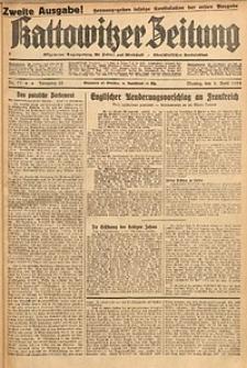 Kattowitzer Zeitung, 1933, Jg. 65, nr77