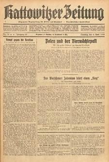 Kattowitzer Zeitung, 1933, Jg. 65, nr78