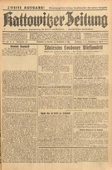 Kattowitzer Zeitung, 1933, Jg. 65, nr82