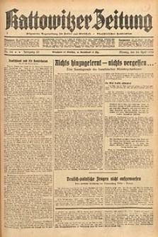 Kattowitzer Zeitung, 1933, Jg. 65, nr94