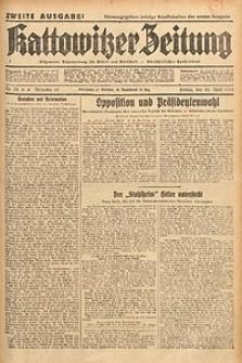 Kattowitzer Zeitung, 1933, Jg. 65, nr98