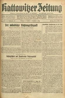 Kattowitzer Zeitung, 1933, Jg. 65, nr103