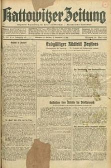 Kattowitzer Zeitung, 1933, Jg. 65, nr107