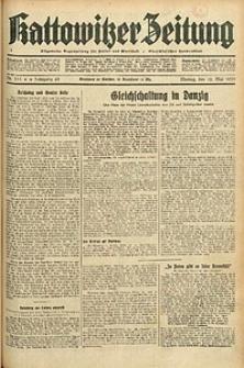 Kattowitzer Zeitung, 1933, Jg. 65, nr111