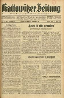 Kattowitzer Zeitung, 1933, Jg. 65, nr131