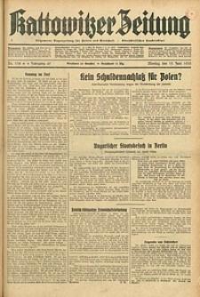Kattowitzer Zeitung, 1933, Jg. 65, nr138