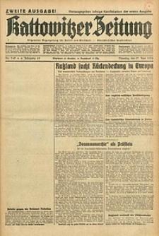 Kattowitzer Zeitung, 1933, Jg. 65, nr145. - Zweite Ausgabe