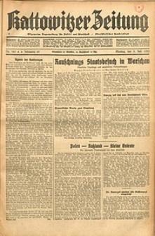 Kattowitzer Zeitung, 1933, Jg. 65, nr149
