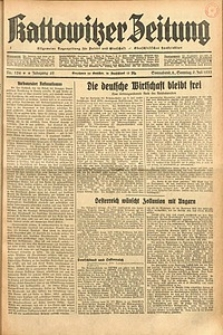 Kattowitzer Zeitung, 1933, Jg. 65, nr154