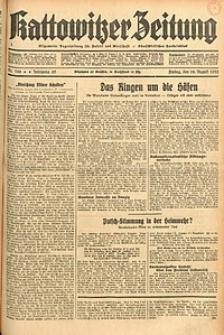 Kattowitzer Zeitung, 1933, Jg. 65, nr188
