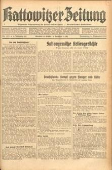 Kattowitzer Zeitung, 1933, Jg. 65, nr211
