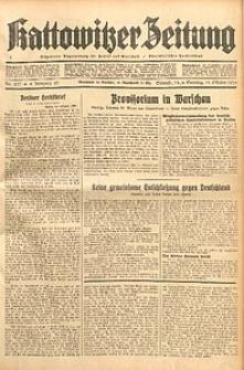 Kattowitzer Zeitung, 1933, Jg. 65, nr237