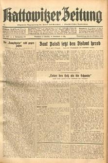 Kattowitzer Zeitung, 1933, Jg. 65, nr247