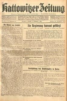 Kattowitzer Zeitung, 1933, Jg. 65, nr271