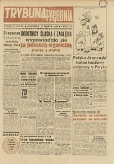 Trybuna Tygodnia, 1948, nr 12