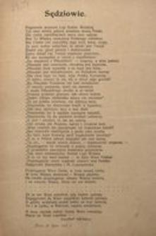 Sędziowie. Dnia 19 lipca 1917 r.