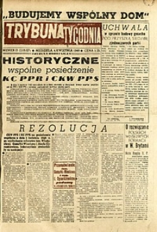 Trybuna Tygodnia, 1948, nr 13